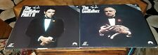 THE GODFATHER●ONE AND TWO●LASER DISC●c1990●PIONEER●MARIO PUZO●EXTENDED PLAY●LOOK