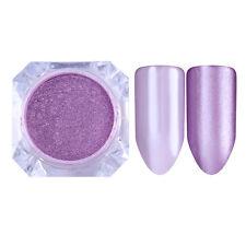 2g Mirror Pearl Powder Dust Shimmer Mermaid Nail Art Glitter Purple BORN PRETTY