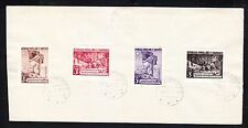 1949 Albania. Albanian  Stamps. Five years Liberty. Canceled in Paper.