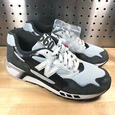 New Balance 660 ML660SNC Men's White Gray Black Suede Running Shoes Sz 8