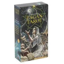 New 78 Pagan Tarot Cards Deck Oracle Kit Wicca Gothic Set With Guidebook