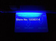 UV Fluorescent Thermal Transfer Ribbon Blue Color for Zebra printer 1000prints