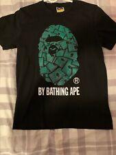 Bape A Bathing Ape Mens T-shirt Crew Neck Monkey Head *Read Description*