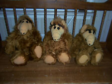 Lot Of 3 Vintage Alf Toys As Pictured
