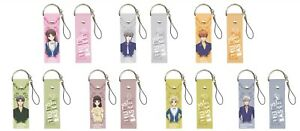 NEW Fruits Basket Big Leather Phone Strap Charm Mascot 7 Types Official Japan