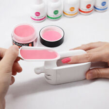 Nail Dip Powder Case French Manicure Dipping Tray Mould Container Professional