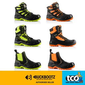 Buckler BuckzViz BVIZ Waterproof Metal-Free Dealer Safety Work Boots Ora/Yell