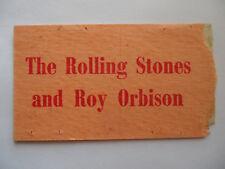 ROLLING STONES__1965__Original CONCERT TICKET STUB__Melbourne, AU__EX-