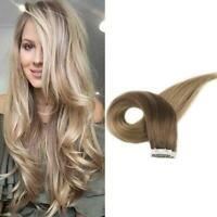 Full Shine 50g Tape in Human Hair Ombre 10/14 Tape in Extension Ship From USA