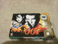 GoldenEye 007 Bond Nintendo 64 N64 Complete CIB Manual Box TESTED & AUTHENTIC !!