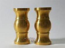 Model Ship Display Pedestals - Solid Turned Brass