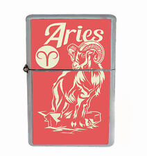 Aries Rs1 Flip Top Dual Torch Lighter Wind Resistant