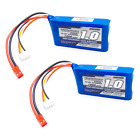 2pcs Turnigy 1000mAh 3S LiPo Battery Pack 11.1V 20C 30C JST Connecctor Plug
