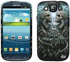 Spiral FLAMING SPINE Samsung Galaxy S3/SIII/S 3 Mobile Phone Case/Cover skull