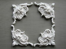 FOUR BEAUTIFUL DECORATIVE  FRENCH COUNTRY STYLE FURNITURE/ FIREPLACE MOULDINGS