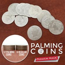 Palming Coin Set (U.S. Half design /12 piece) by Premium Magic