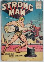 Strong Man #1 (1955) 1.0 Detached Cover Magazine Enterprises