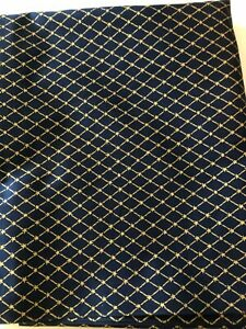"Daisy Kingdom Diamond Allover Fabric by Maggie, USA, 1996, 2 yds X 45"""