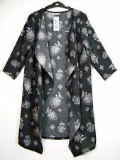 Cappotti e giacche da donna neri floreale senza marca