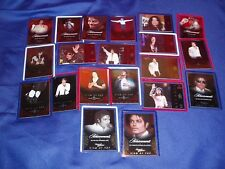 2011 Panini Michael Jackson 20 New Platinum Cards in Protector Sleeves (2nd)