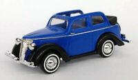 1935 Ford Convertible Blue Busch 1/87 Miniature Car HO Scale Plastic