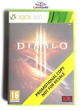 Diablo 3 Xbox 360 Nuevo Precintado Promo Sealed Retro Brand New PAL/UK