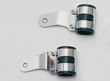 Universal Lampenhalter Scheinwerfer Halter chrom Durchmesser 38 39 40 41 42 mm