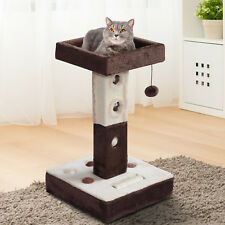 "24""H Cat Tree Tower Kitty Playground Scratching Post Furniture Sisal Ball"