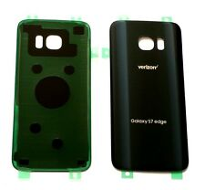 Original OEM Back cover Glass For Samsung Galaxy S7 Edge Verizon G935V~ BLACK~US