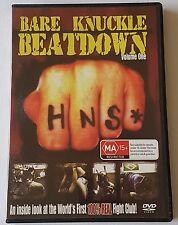 BARE KNUCKLE BEATDOWN VOLUME ONE DVD (#DVD00401)