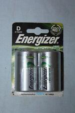 "ENERGIZER 2 Piles rechargeables Power Taille "" D "" R20 -  - 2500mAh - 138757"
