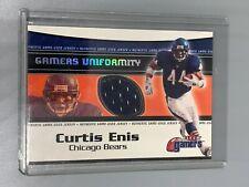 Curtis Enis 2000 Fleer Gamers Gamers Uniformity Jersey Relic Chicago Bears