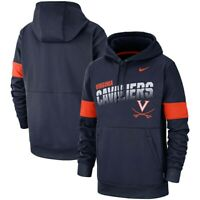 New Nike Men's Virginia Cavaliers 2019 Sideline Therma Hoodie Medium MSRP $80