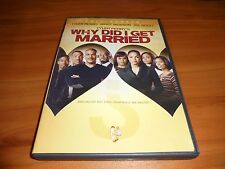 Tyler Perry's Why Did I Get Married? (DVD, Full Frame 2008)  Janet Jackson Used