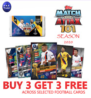 Match Attax 101 2020 Limited Edition & Foils W1 Fresh from packet - You Choose