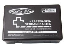 MEDIA BLUE KFZ-Verbandkasten Erste Hilfe fürs Auto Standard schwarz DIN 13164