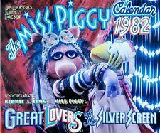 The Muppets Miss Piggy & Kermit the Frog 1982 Calendar - 2021 Calendar Year