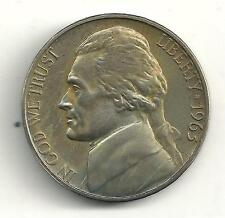 VERY NICE PROOF 1963 P JEFFERSON NICKEL-VERY NICELY TONED