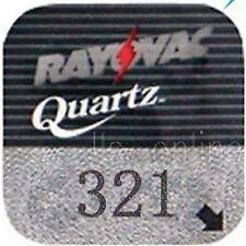 4 Rayovac 321 Silver oxide Watch Batteries SR616SW SR65