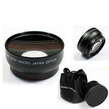 52mm 0.45x Wide Angle Macro Conversion Lens for Nikon D7000 D5100 D3100 D3000