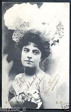 CARTE POSTALE ...  NINI DERIAUX  ... 1905