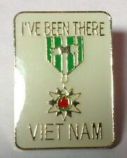 I'VE BEEN THERE VIETNAM LAPEL PIN HAT TAC NEW