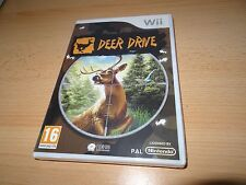 Nintendo Wii Deer Drive Hunter Game new sealed uk pal version