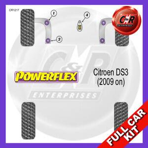 Fits Citroen DS3 (2009 on)  Powerflex Complete Bush Kit