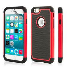 Étuis, housses et coques rouges en plastique rigide iPhone 7 pour téléphone mobile et assistant personnel (PDA)