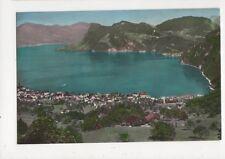 Hergiswil Panorama Switzerland Old Postcard 456a
