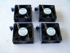Computer Cooling Fans 12VDC 0.60 A 92mm. lot of 4 Case Fans used tested OK