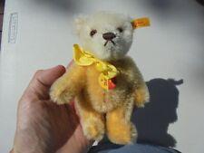 Steiff Mohair Bear Dolly 030673 Excellent w Tags