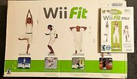 WII FIT BOARD 2008 WITH PELICAN NON-SLIP COVER AND BONUS 2009 WII FIT PLUS GAME