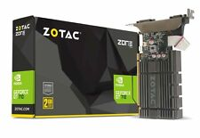 ZOTAC GeForce GT 710 2GB 64-bit DDR5 ZONE Edition PCIe HDMI/VGA/DVI Graphic Card